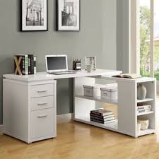 White L Shape Desk Shop Desks At Lowes