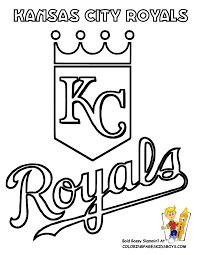 kc royals images 06 kansas city royals baseball coloring at