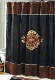 Southwestern Style Curtains Captivating Southwest Style Shower Curtains And Curtain