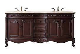 72 inches saturn double sink bathroom vanity with travertine
