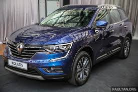 renault koleos 2017 red india bound 2016 renault koleos launched malaysia