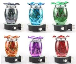tie dye plug in diffuser tart oil warmer wall outlet night light