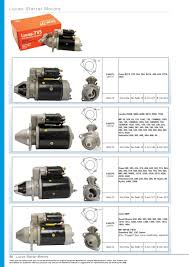 oe new products starter motors page 56 sparex parts lists