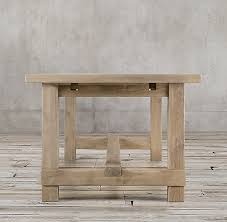 Restoration Hardware Tables Salvaged Wood Farmhouse Rectangular Extension Dining Table