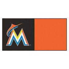 fanmats mlb houston astros orange and blue nylon 18 in x 18 in