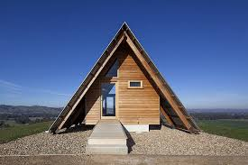a frame roof kimo hut is an a frame tent shape with two open ends and a