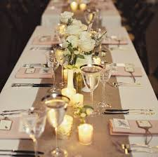 Elegant Table Settings by Elegant Wedding Table Decorations