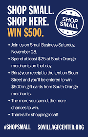 gift cards for small business shop to win 500 in gift cards on small business saturday in south