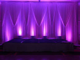 pipe and drape rental white pipe drape 10 12 section includes setup install