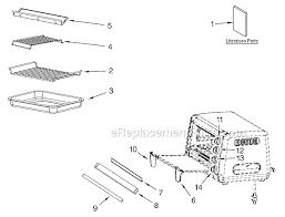 Kitchenaid Toaster Oven Parts List Kitchenaid Kco111 Parts List And Diagram Ereplacementparts Com