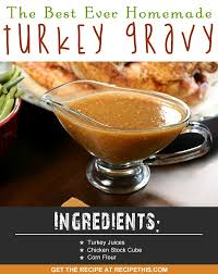 how to make the best turkey gravy recipe this