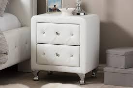 nightstands mirrored nightstand cheap mirrored nightstand amazon