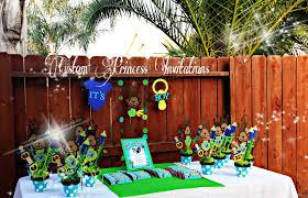 custom princess invitations monkey baby shower theme set banner