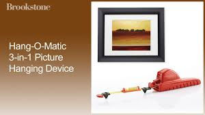 hang o matic 3 in 1 picture hanging device proper height how to