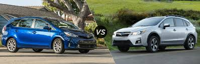 subaru crosstrek hybrid 2017 2017 toyota prius v vs 2016 subaru crosstrek hybrid