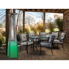 propane patio heaters 7 ft propane patio heater with stainless steel frame and multi