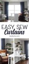 easy sew curtains if i can sew these you can too landeelu com