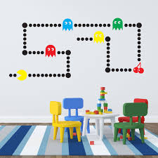 popular pacman wall stickers buy cheap pacman wall stickers lots pacman wall stickers