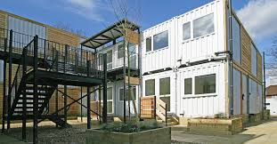 london u0027s marston court transforms shipping containers into