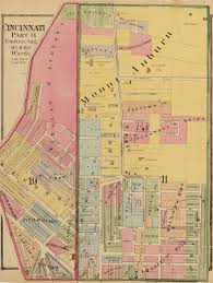 Map Of Northern Ohio mount auburn historic district wikipedia