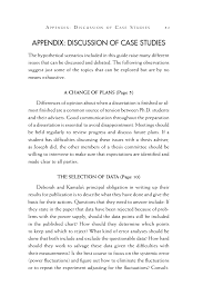 how to write a good thesis paper appendix discussion of case studies on being a scientist a page 51