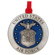 air force pewter ornament usa theme christmas ornaments