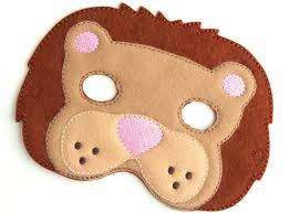 lion mask for kids kids lion mask lion costume zoo felt mask kids mask