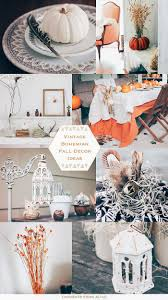 vintage bohemian fall decor ideas