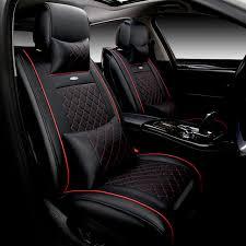 couvre siege cuir siège de voiture en cuir de luxe couvre universel automobile siège