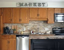 Beautiful Kitchen Backsplash Decoration Beautiful Kitchen Backsplash With Oak Cabinets Best 25