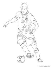 mario baloteli soccer coloring pages printable