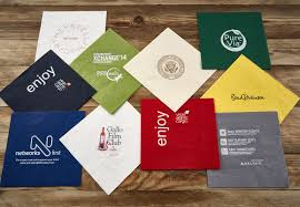 dining room custom cocktail napkins order personalized napkins