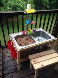 diy sand and water table pvc sand and water table diy farmhouse sand and water table water and