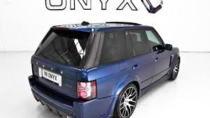 onyx range rover onyx concept takes 2010 range rovers to 635hp with new platinum s