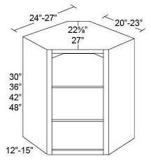 wall diagonal corner cabinet nodoor wall diagonal corner cabinet for glass doors fabuwood