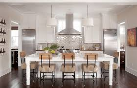 kitchen natural white kitchen with pull down faucets also dining