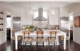 kitchen blue kitchen with wall art also glass backsplash