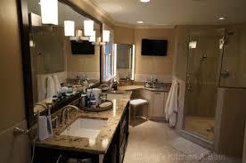 Built In Bathroom Vanity Make Space For A Bathroom Vanity Lang U0027s Kitchen U0026 Bath