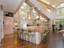 open floor plan kitchen ideas open floor plans for modern kitchen designs free image