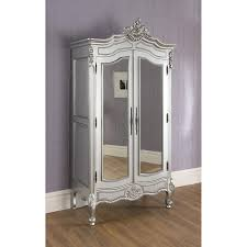 furniture interior storage design with white armoire wardrobe and