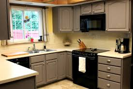 Yellow Kitchen With White Cabinets by Yellow Kitchen Walls Grey Cabinets