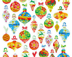 ornament stickers etsy