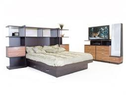 opus bedroom queen pier w platform media dresser bedroom