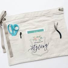 Customized Aprons For Women Custom Half Apron Vendor Aprons Custom Embroidery Florist