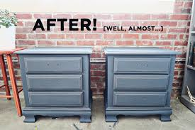 Before And Afters Clients Paint by Before And Sort Of After Graphite Nightstands U2014 A Simpler