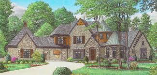 French Country Cottage Plans 4 Bedroom 2 Story 5000 Sq Ft House Floor Plans Stone And Brick