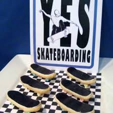 skateboard birthday party party city hours