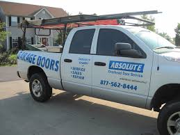 Overhead Door Service One Of Our Absolute Overhead Door Service Trucks Absolutedoor Net