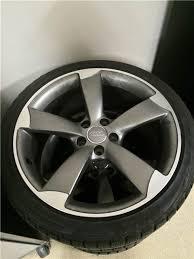audi titanium wheels oem audi titanium package wheels w bridgstone blizzak winter