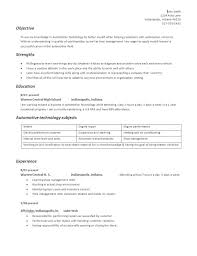 What Does A Resume Look Like High Student Resume High Student Resume Samples